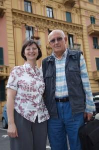 Stefania Caterina e Renzo Allegri